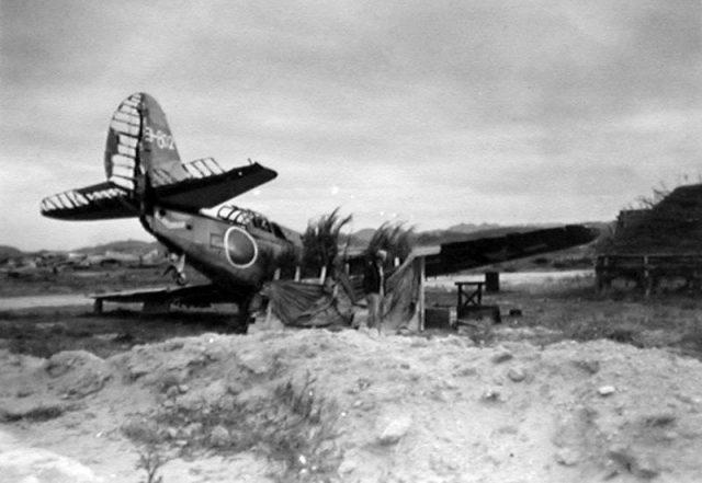 Wrecked US Navy Plane Used as Japanese Decoy During the War in the Pacific