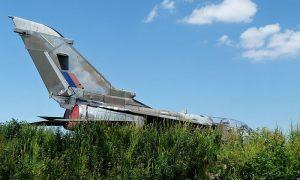 Former Trials Tornado ZA354 Looking Forlorn at Elvington