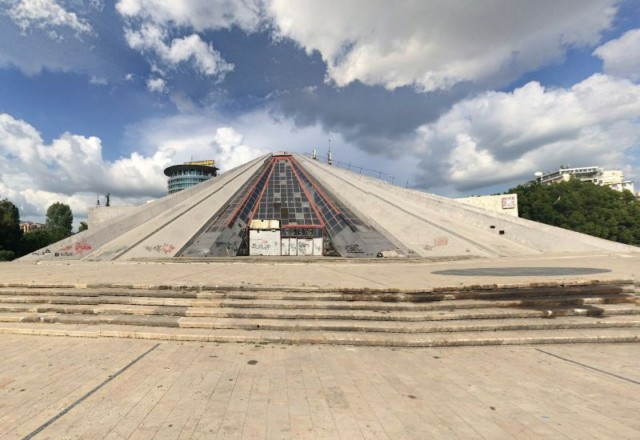 The Neglected Pyramid of Tirana, Albania