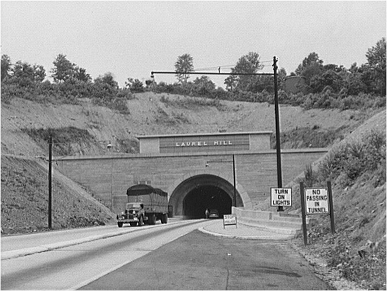 Laurel Hill Tunnel on the Abandoned Pennsylvania Turnpike