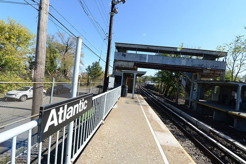 Closed: Atlantic station on the Staten Island Railway