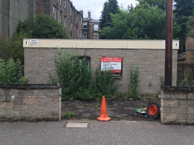 Public Inconvenience: Disused Toilets in Canaan Lane, Edinburgh