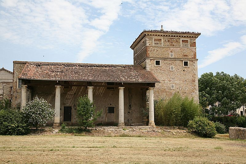 The unfinished Villa Trissino (Meledo di Sarego)