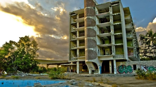 The Abandoned Hotel Ponce Intercontinental, Puerto Rico