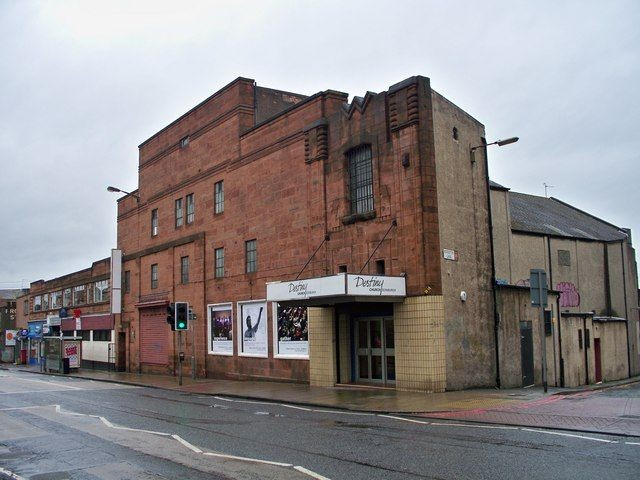 Destiny Church: Formerly the New Tivoli Cinema on Gorgie Road, Edinburgh